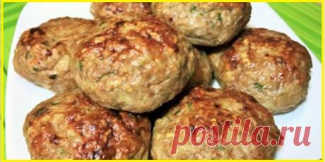 Куриные Котлеты Диетические в духовке без яиц, хлеба и картофеля | Кулинарушка - Вкусные Рецепты