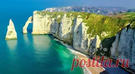 Меловые скалы — сбор пазла — Пазлы онлайн