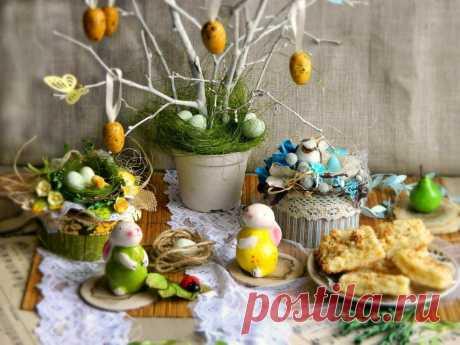 Пасхальный интерьер, 7 основных символов, идеи | календарь уютного дома | Яндекс Дзен