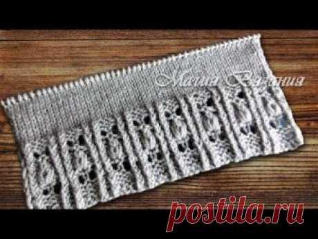 Вязание-спицы >Оригинальная резинка от Хитоми Шидо