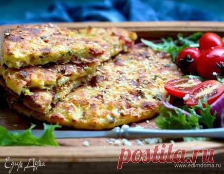 Лепешки творожные с сыром и ветчиной, пошаговый рецепт на 922 ккал, фото, ингредиенты - daiquiri