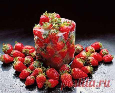 Как заморозить клубнику и сохранить витамины | Хитрости Жизни