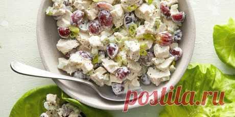 10 салатов с копчёной курицей, которые точно понравятся - Лайфхакер