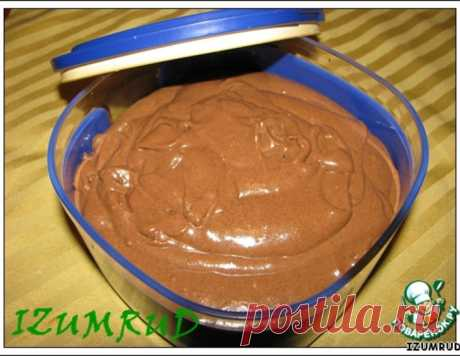 """Крем для торта """"Нутелла"""" – кулинарный рецепт"""