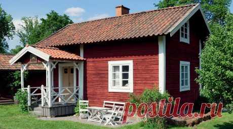 Как быстро и просто обновить деревянный дачный дом с помощью одной только краски Обновляем внешний вид загородного дома, перекрашивая фасад, террасу, окна, двери и мебель.