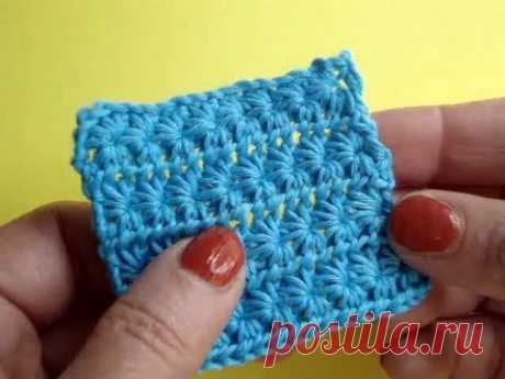 Patterns for knitting by a hook: 10 video lessons with explanations
