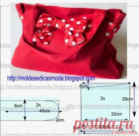 Bags do not happen much... Patterns templates of bags - Club of needlework - the Country of Mothers