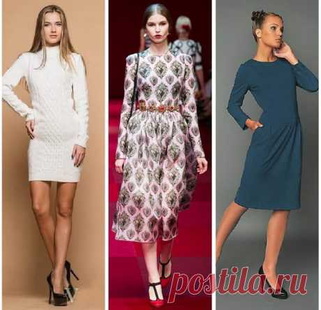 The closed dresses - style which is pertinent everywhere \/ All for the woman