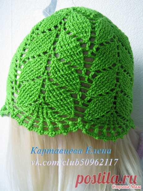 Панамочки - Вязание для детей - Страна Мам