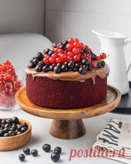 Смородиновый кейк