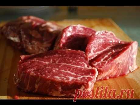 Es simplemente sabroso - la Carne Por-Shveytsarski - la Receta \/ la Carne de vaca