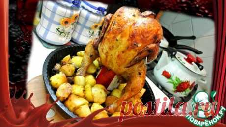 """Цыпленок """"Тапака"""" на топленом масле – кулинарный рецепт"""