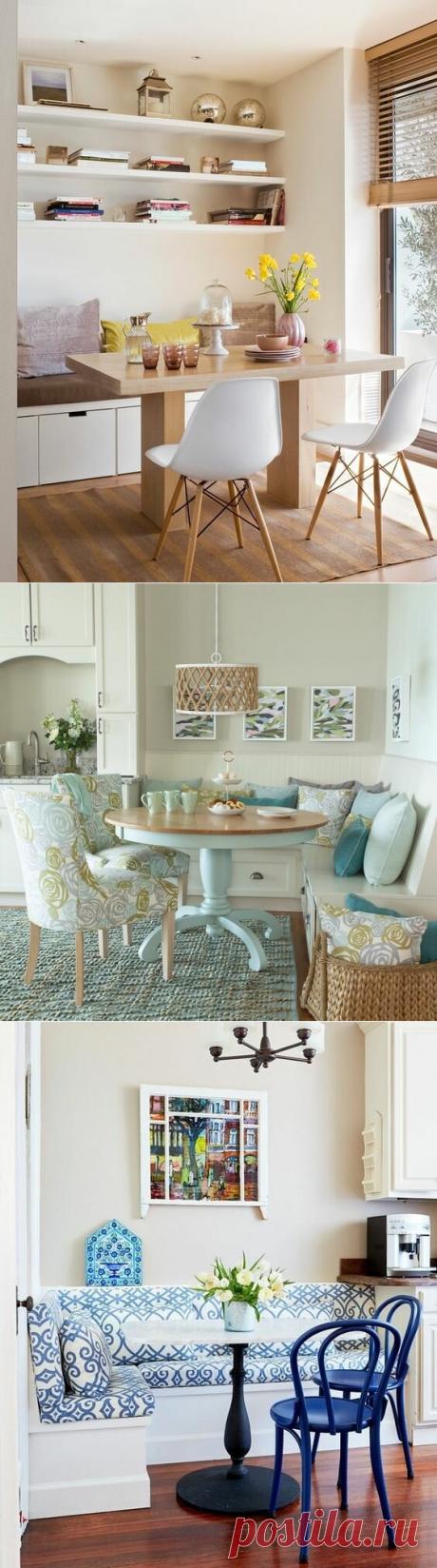 На кухне диван с ящиками - это удобно и место для хранения есть | Дизайнер интерьера & Любитель | Яндекс Дзен
