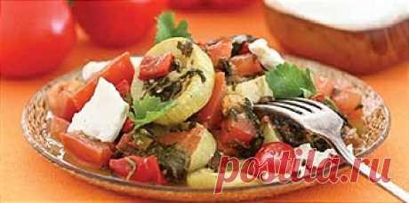 Кабачки по-гречески - Рецепты для Мультиварки