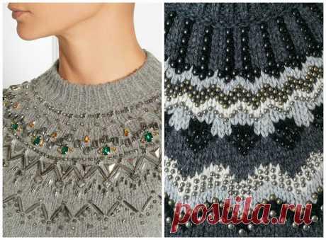 Идеи для украшения свитера Даже самый замечательный свитер станет еще лучше,если с фантазией подойти к его декорированию! Украсить готовый вязаный свитер своими руками очень легко, и мы готовы подсказать вам множество ярких…