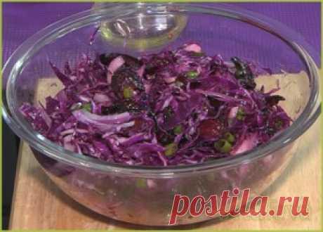 Салат из свеклы «Фиолетовая фантазия»