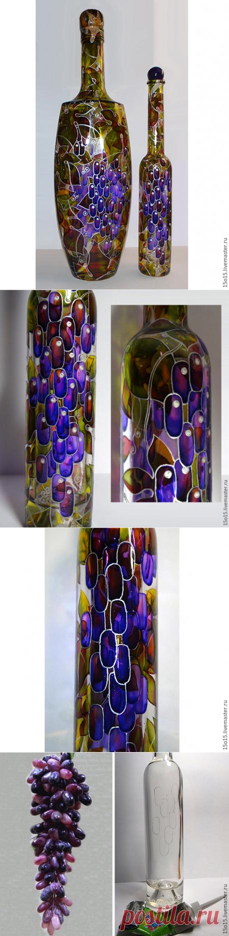 "Мастер-класс ""Волшебные бутылки"" - Ярмарка Мастеров - ручная работа, handmade"