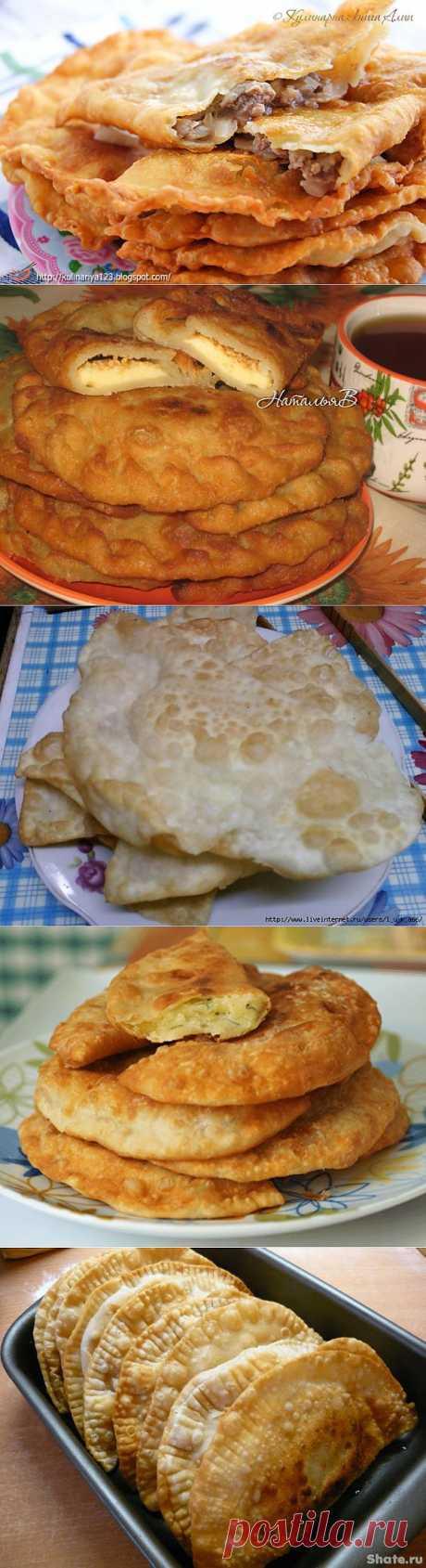 Такие разные, но такие вкусные! Чебуреки - рецепты приготовления..