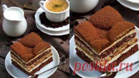 Бісквітний торт «Смак латте макіато» : Ням ням за 5 хвилин