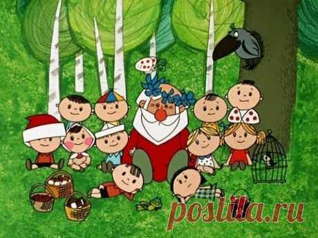 Новогодние мультфильмы - Дед Мороз и лето - YouTube