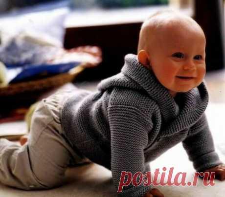 Вяжем спицами для Маленьких Мужчин. Пуловеры, жакеты и толстовка для мальчиков. Модели на возраст от 3 месяцев и до 10 лет. | Ирина СНежная & Вязание | Яндекс Дзен