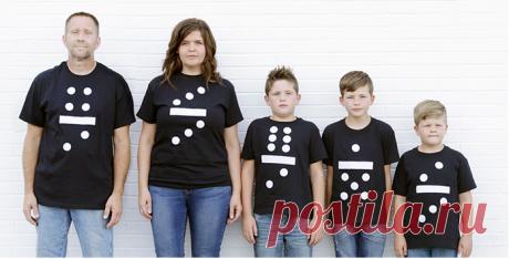Идея семейного фото