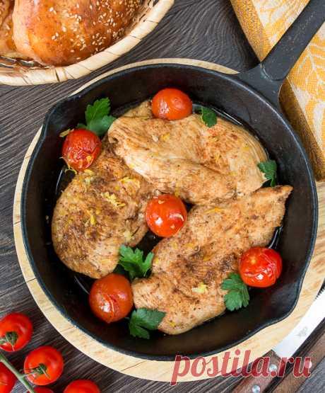 Быстрое куриное филе с бальзамическим уксусом - Пошаговый рецепт с фото | Вторые блюда | Вкусный блог - рецепты под настроение