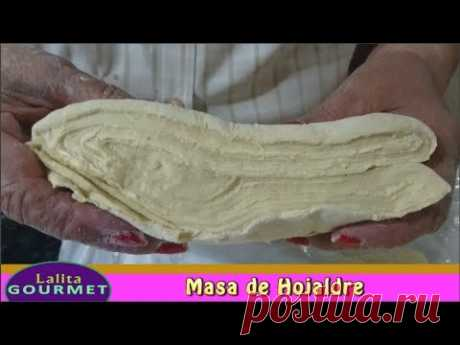 Receta de Masa de Hojaldre - YouTube