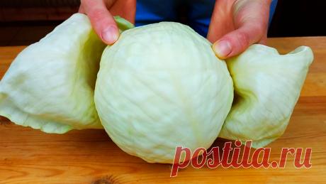 Когда мне хочется особенно вкусной капусты, я готовлю её с луком и мукой на сковороде: делюсь быстрым рецептом | Кулинарный Микс | Яндекс Дзен