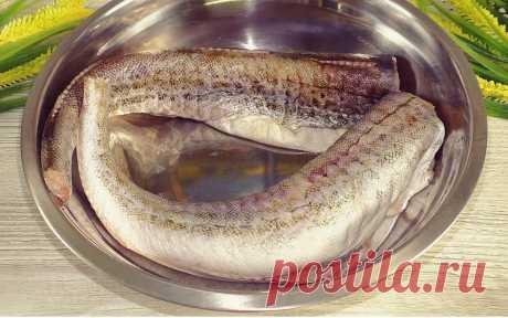 """Не успеваю покупать минтай после того, как узнала """"Сливочный"""" рецепт: намного вкуснее жареного Сегодня предлагаю приготовить очень нежное рыбное блюдо. Получается безумно вкусно и готовится просто. Я в последнее время готовлю только так минтай в сливочном луковом соусе и никакой жарки. Понадобится: Минтай (+/-) 900 гр.. Лук 2 шт. Сливочное масло 35 гр. Соль по кусу Черный перец по вкусу Количество рыбы можно корректировать у меня две рыбки […]"""