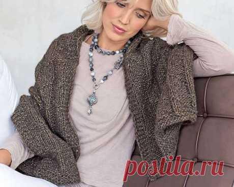 Rectangular shawl