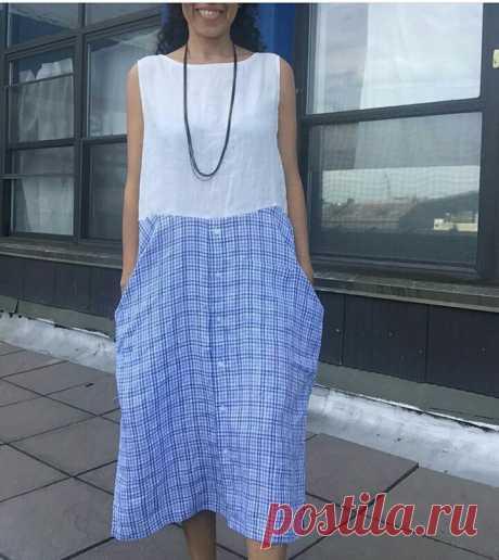 Домашнее платье из рубашек Модная одежда и дизайн интерьера своими руками