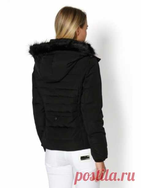 Женская куртка Tom Tailor цвет черный за 1 999 Р
