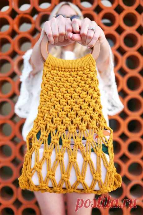 Трансформируем обычный клубок ниток в летний аксессуар для модного образа — Калейдоскоп событий