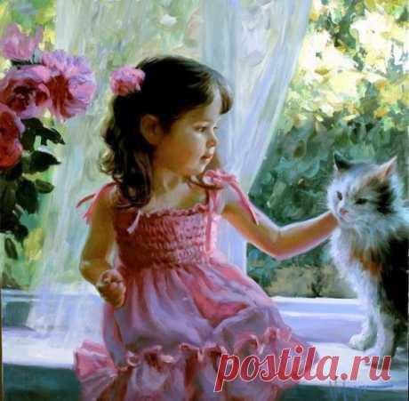 Дети и животные, изо, ч.6 – Блог. Run, пользователь Марина Николаева | Группы Мой Мир