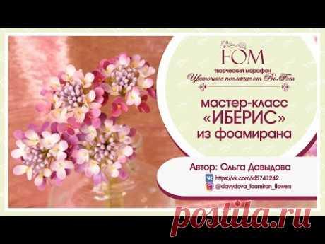 Pro.FOM/ Про.ФО/ МК ИБЕРИС из фоамирана. Автор: О. Давыдова