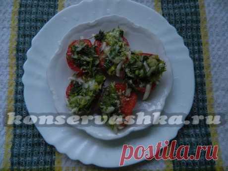 Острые помидоры быстрого приготовления