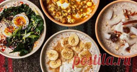 5 утренних рецептов для вкусного завтрака с пользой Едят с удовольствием дети и взрослые.