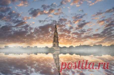 Город Калязин, Тверская область. Автор фото — Кирилл Пчелинцев