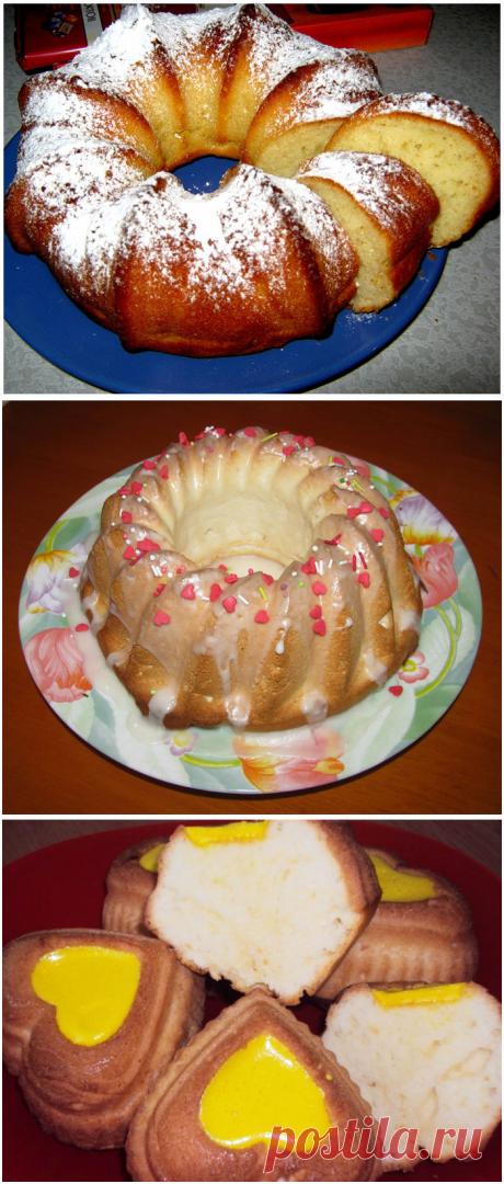 20 рецептов вкуснейших кексов