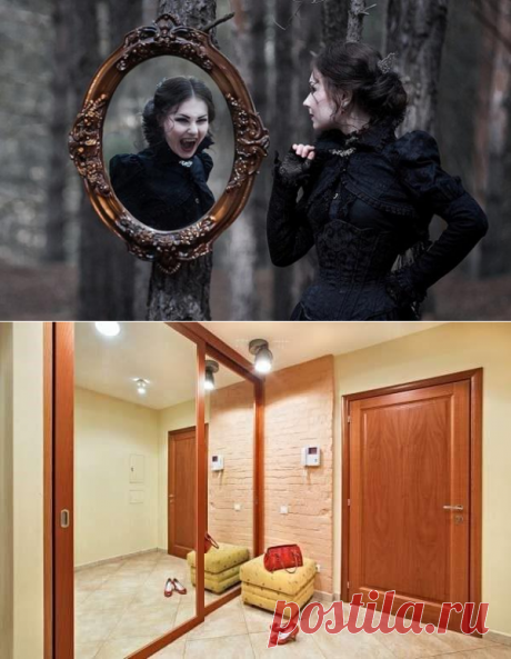 Почему нельзя вешать зеркала возле дверей! Читайте советы от Ванги