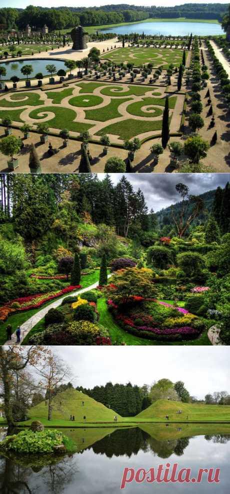 15 самых красивых садов в мире