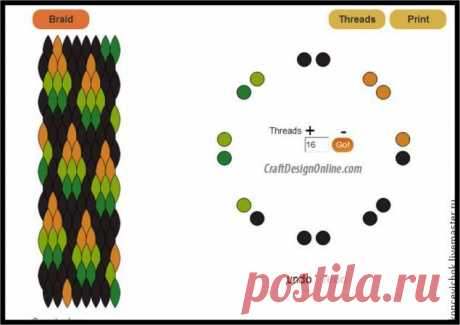 Схемы плетения кумихимо для начинающих с фото и видео