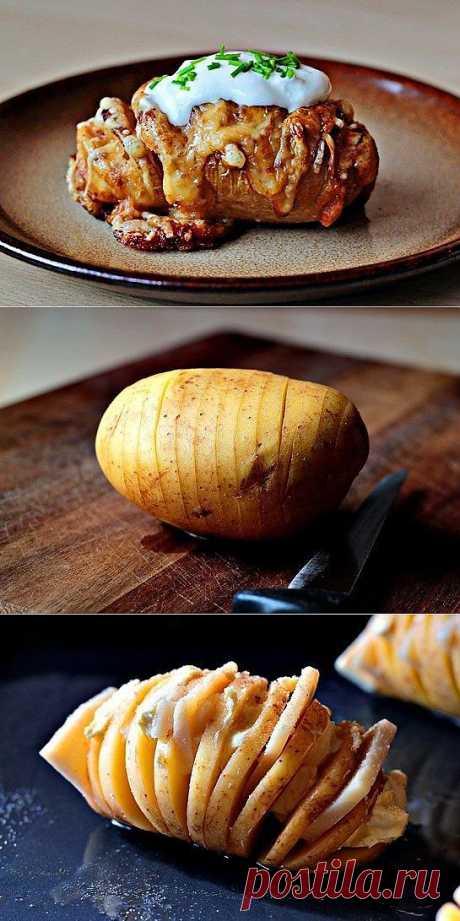 Печеный картофель с сыром кулинарный рецепт с фото от Paragrams