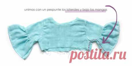 Vestido de Muselina de Bebé [ Patrón & Tutorial Paso a Paso ] GRATIS