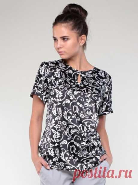 Женская блузка Размеры 50-58 российские Источник Дизайн|Пошив|Мастер-классы|Выкройки