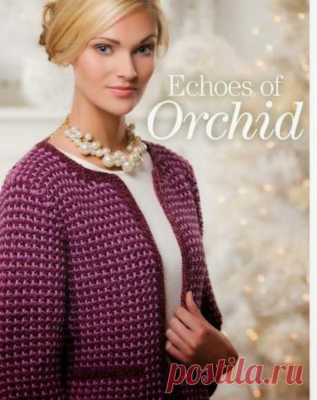 Мир хобби: Жакет в стиле Шанель (вязание спицами)