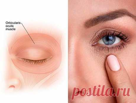 Супер упражнения для омоложения зоны вокруг глаз / Все для женщины