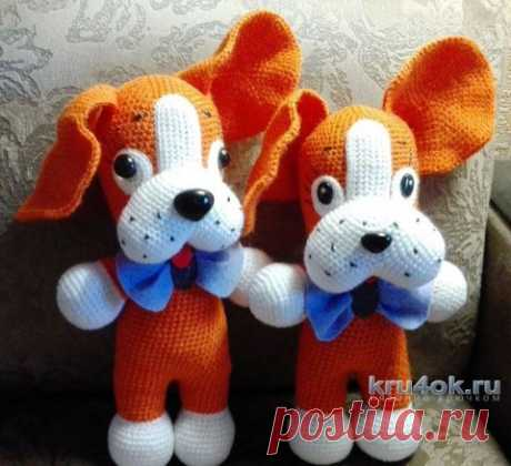 Toy doggie hook. Elena Aistova's work