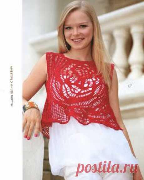 Красивые модели - фриформ крючком! : Вязание для начинающих